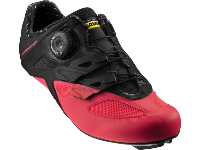 ceada6d453e Mavic Sequence Elite - Chaussures Femme - rouge noir - Boutique de ...